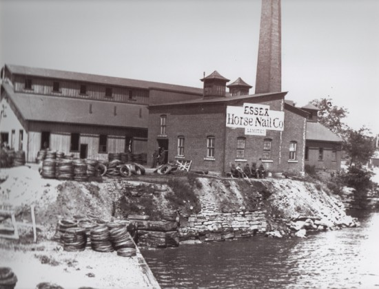 Essex Horse Nail Company in Essex, New York